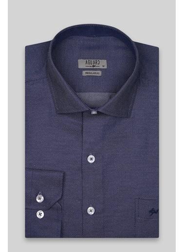 IGS Erkek Lacıvert Regularfıt / Rahat Kalıp Std Gömlek Lacivert